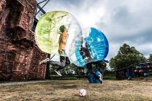 Bumpervoetballen huren eigen locatie en leiden