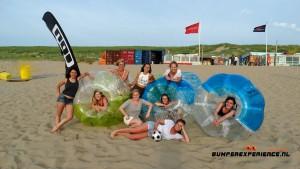 Bubble voetballen in Noordwijk