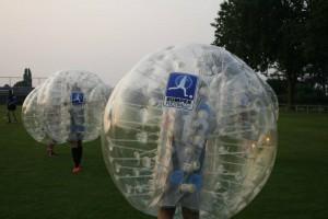 Bumper bubble voetbal