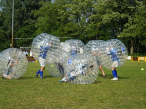 Bumper bubble voetbal