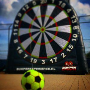 Voetbaldartboard huren voetbaldarten op locatie