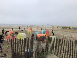 Beach volleybal toernooi bedrijfsuitje
