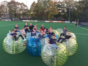 Bubble voetbal huren op locatie Bubbelbal