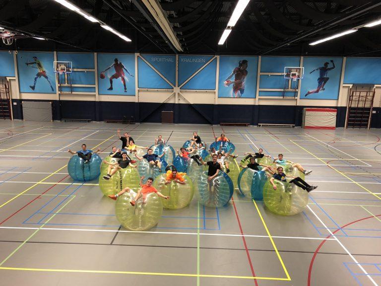Bubbelbal huren vrijgezellenfeest Rotterdam