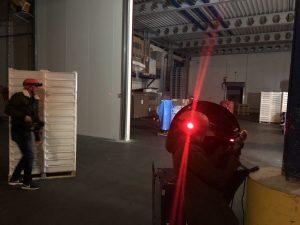 Personeelsuitje lasergamen op locatie