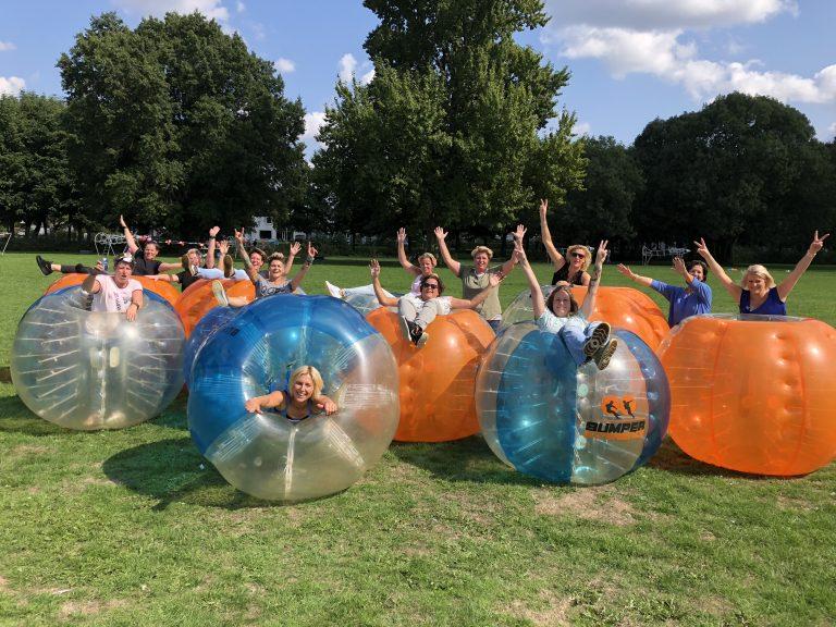 Bubbel voetbal Utrecht Wilhelminapark